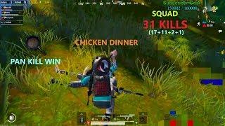 "[Hindi] PUBG Mobile | 17 Kills With ""Pan Kill"" Chicken Dinner In Sanhok"