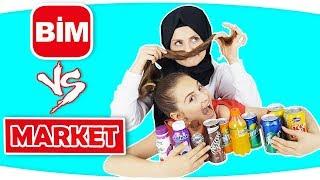 bim vs market bim ürünleri diğer ürünlere karşı ve