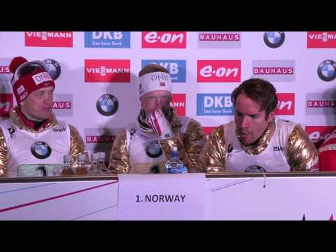 WCH Men's Relay: Norway, Germany and Canada