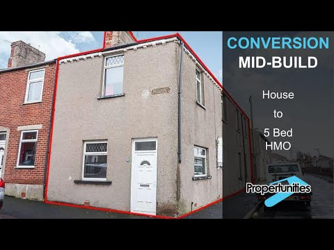 5 Bed HMO Conversion - A Tour Around [VIDEO 1]