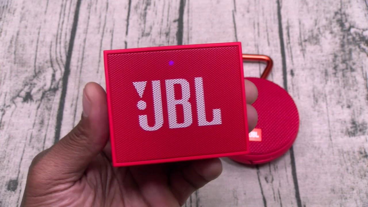 Jbl Go Portable Bluetooth Speaker Youtube