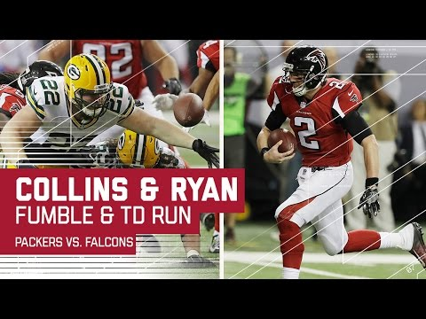 Collins Forced Fumble Leads to Matt Ryan TD Run! | Packers vs. Falcons | NFC Championship Highlights