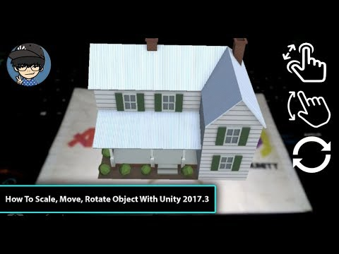 How To Scale Move Rotate Object Using Lean Touch With Unity 2017 3