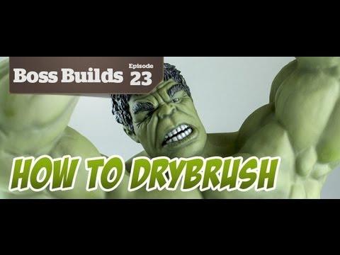 How To Drybrush The Hulk | Boss Builds 23