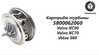 Картридж турбины Вольво XC90 (Volvo XC90) Вольво S60 (Volvo S60) Turboparts