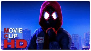 Miles Morales Becomes SpiderMan Scene  SPIDERMAN INTO THE SPIDERVERSE (2018) Movie CLIP HD