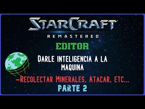StarCraft 1 EDITOR Darle inteligencia a la maquina