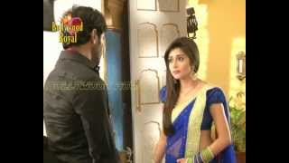 On location of TV Serial 'Uttran'  Akash comes drunk to make Mithi jealous