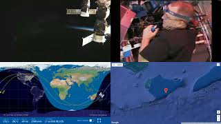 Orbital Sunset Over Australia - NASA/ESA ISS LIVE Space Station With Map - 27 - 2018-07-16
