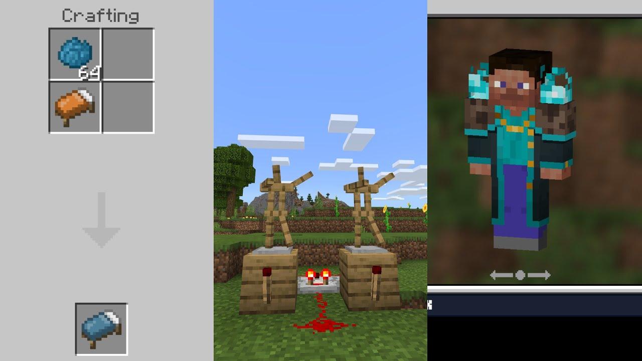 25 FITUR Yang HANYA ADA Di Minecraft BEDROCK EDITION