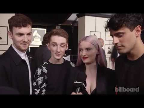 Clean Bandit: The 2015 GRAMMYs Red Carpet