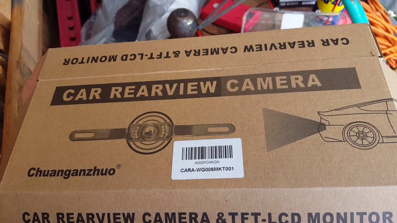 Chuanganzhuo Backup Camera Install On F150 Lcd Only In Reverse Wiring