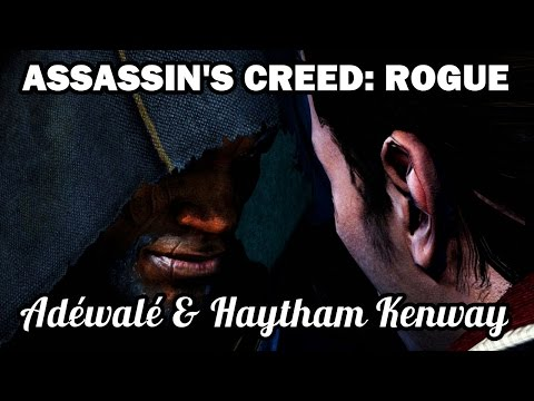 Assassin's Creed: Rogue - Adéwalé and Haytham speak of Edward Kenway