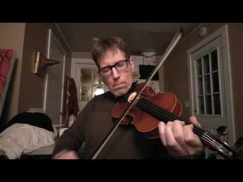Paidin O'Rafferty's (5-part) jig by a beginner on fiddle