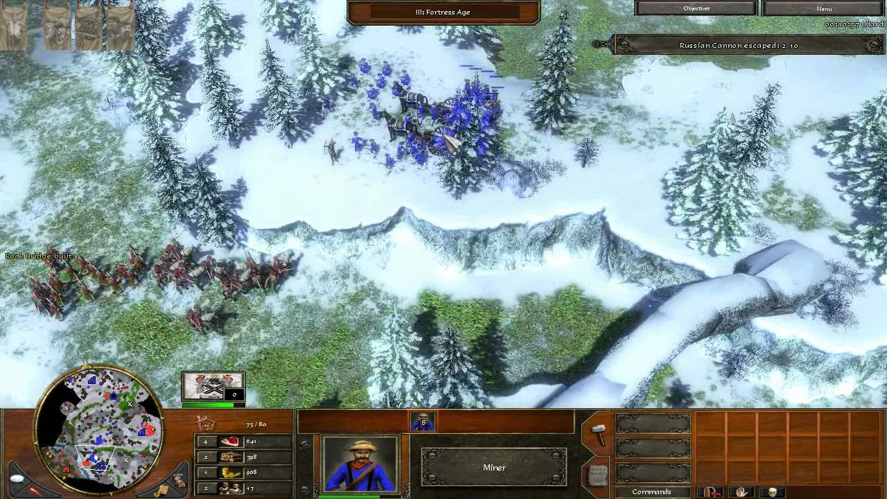 Age of Empires 3 - Act 2 Mission 8 - Bring Down the Mountain