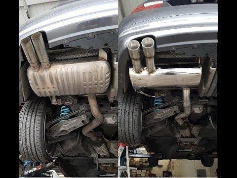 Tsudo BMW E90 E92 328i tsudo axle back Exhasut