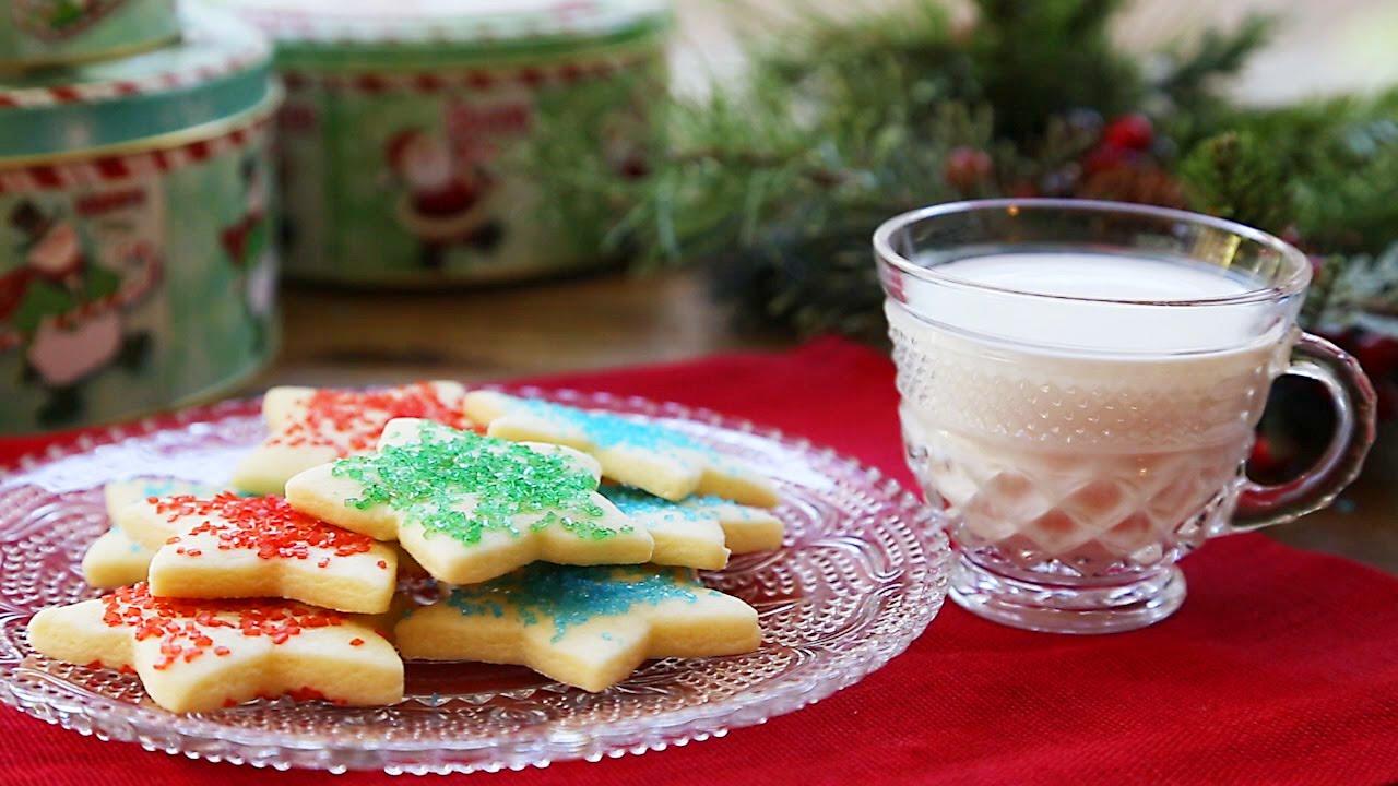 Normale Weihnachtskekse.Einfache Weihnachtsplätzchen Zum Ausstechen
