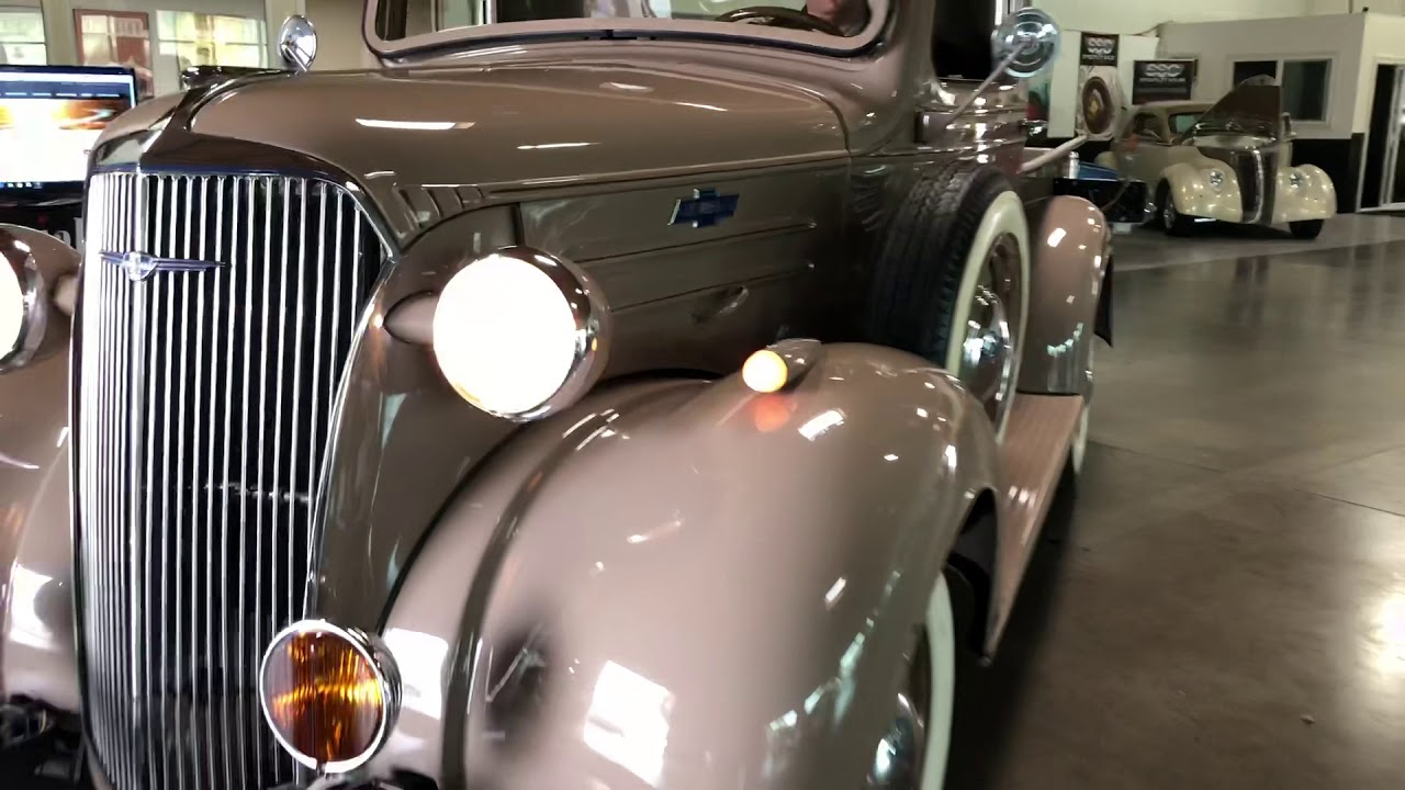 1937 Chevrolet GC 1/2 Ton 2 Door Pickup - Specialty Sales