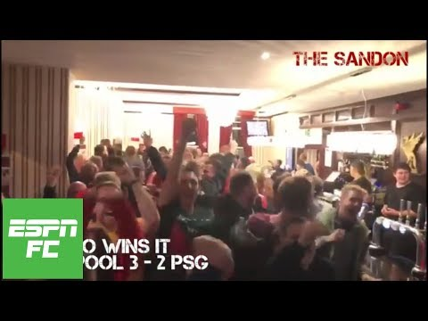 Project Football: Experiencing Liverpool's 3-2 win over PSG in Champions League | ESPN FC