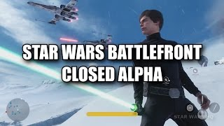 Star Wars Battlefront News: Closed Alpha Revealed! Signs of a Beta and PC Specs