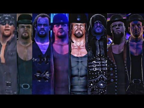 WWE 2K17 - Undertaker Entrance  Evolution! ( WWF Smackdown To WWE 2K17 )