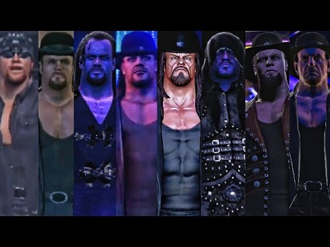 WWE 2K17 - Undertaker EntranceEvolution! ( WWF Smackdown To WWE 2K17 )