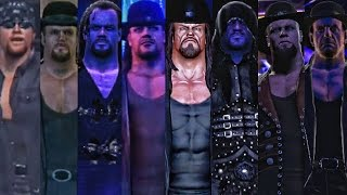 WWE 2K17 - Undertaker Entrance  Evolution! ( WWF Smackdown To WWE 2K17 )