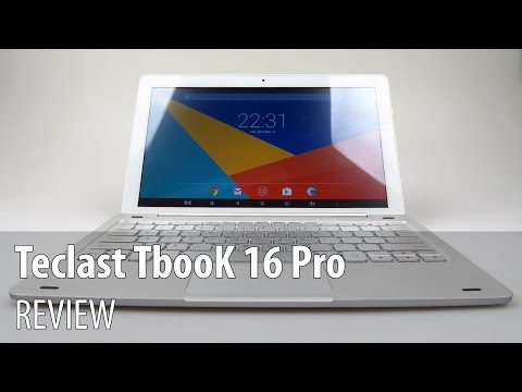 Четириядрен таблет Teclast Tbook 16 Pro 2 in 1 Tablet PC Windows 10 + андроид 5.1 17