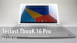Teclast TbooK 16 Pro Review (2 in 1 Dual Boot Tablet and Keyboard) - Tablet-News.com