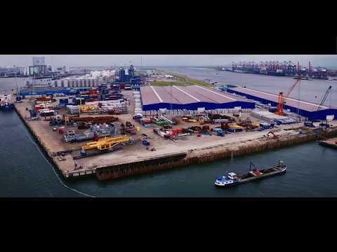 Rhenus Logistics B.V. – construction of new quay at Rotterdam Maasvlakte