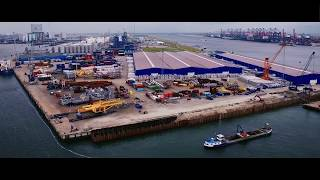 Rhenus Logistics B.V. – construction of new quay at Rotterdam Maasvlakte