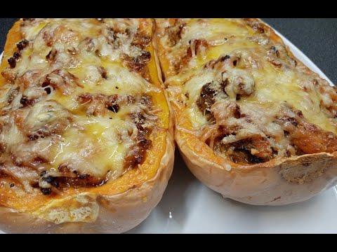butternut-farcie-au-four-🎃-/-baked-stuffed-butternut-squash