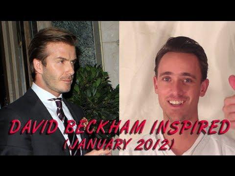 David Beckham Hairstyle Tutorial 2012 Jesseminty Youtube
