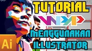 Tutorial WPAP menggunakan Illustrator (dengan narator dan file latihan)