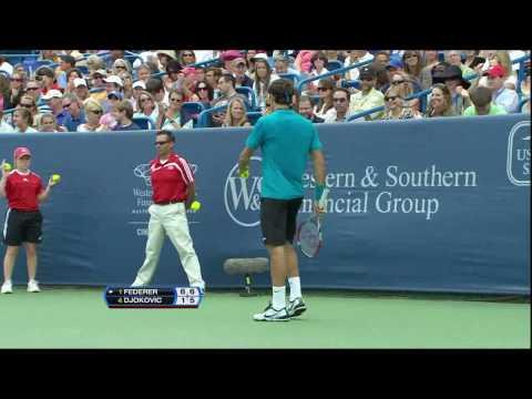 [Roger Federer] - Incredible Passing Shoot [HD]