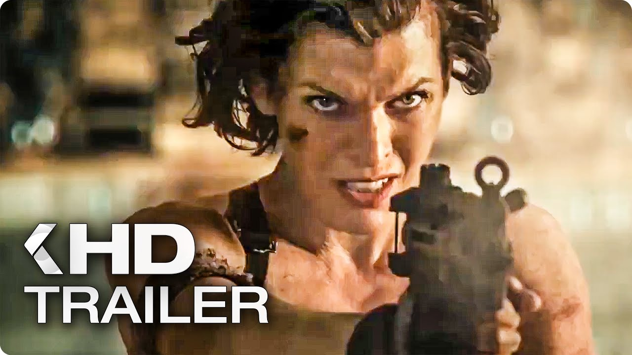Resident Evil The Final Chapter Official Trailer: RESIDENT EVIL 6: The Final Chapter Trailer 2 (2017)
