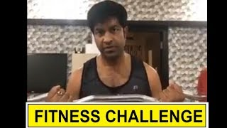 Comedian Vennela Kishore Fitness Challenge Funny Video | Telugu Celebrities Fitness Challenge