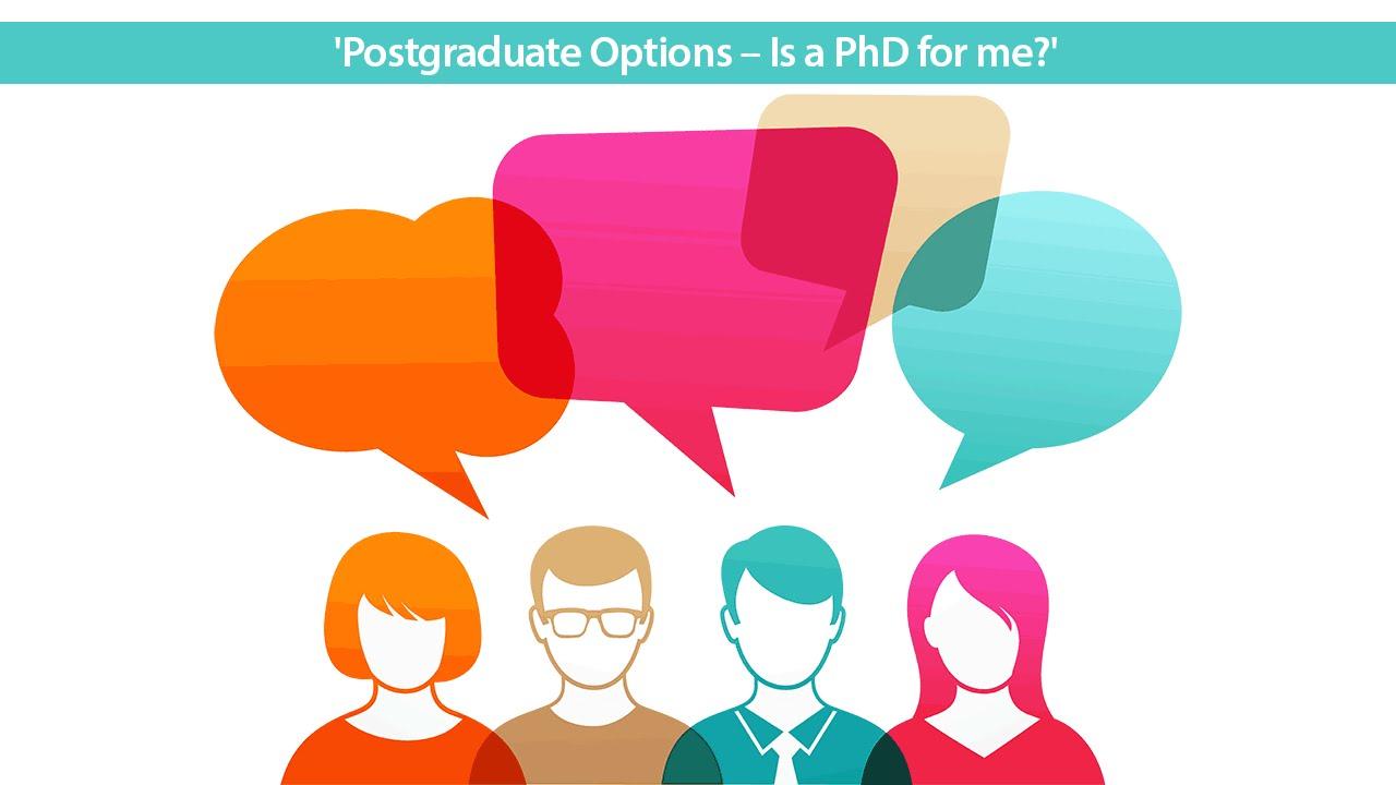 Postgraduate options...?