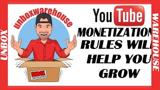 3 Ways YouTube's New Rules will Help You Grow!  Youtube Channel Monetization