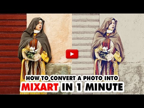 Mix Art Photoshop Action - Video Tutorial | Mesothelioma Attorney Directory Of Photoshop