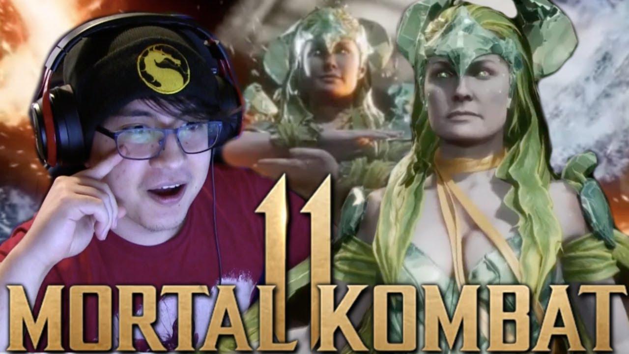 Mortal Kombat 11 - Cetrion Gameplay Reveal REACTION!