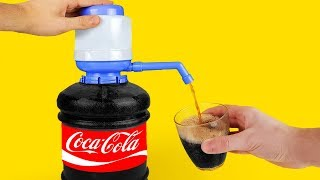 15 AWESOME HACKS WITH COCA COLA