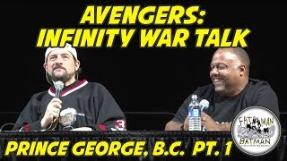 Infinity War, TV Talk, The Highwaymen, Batman