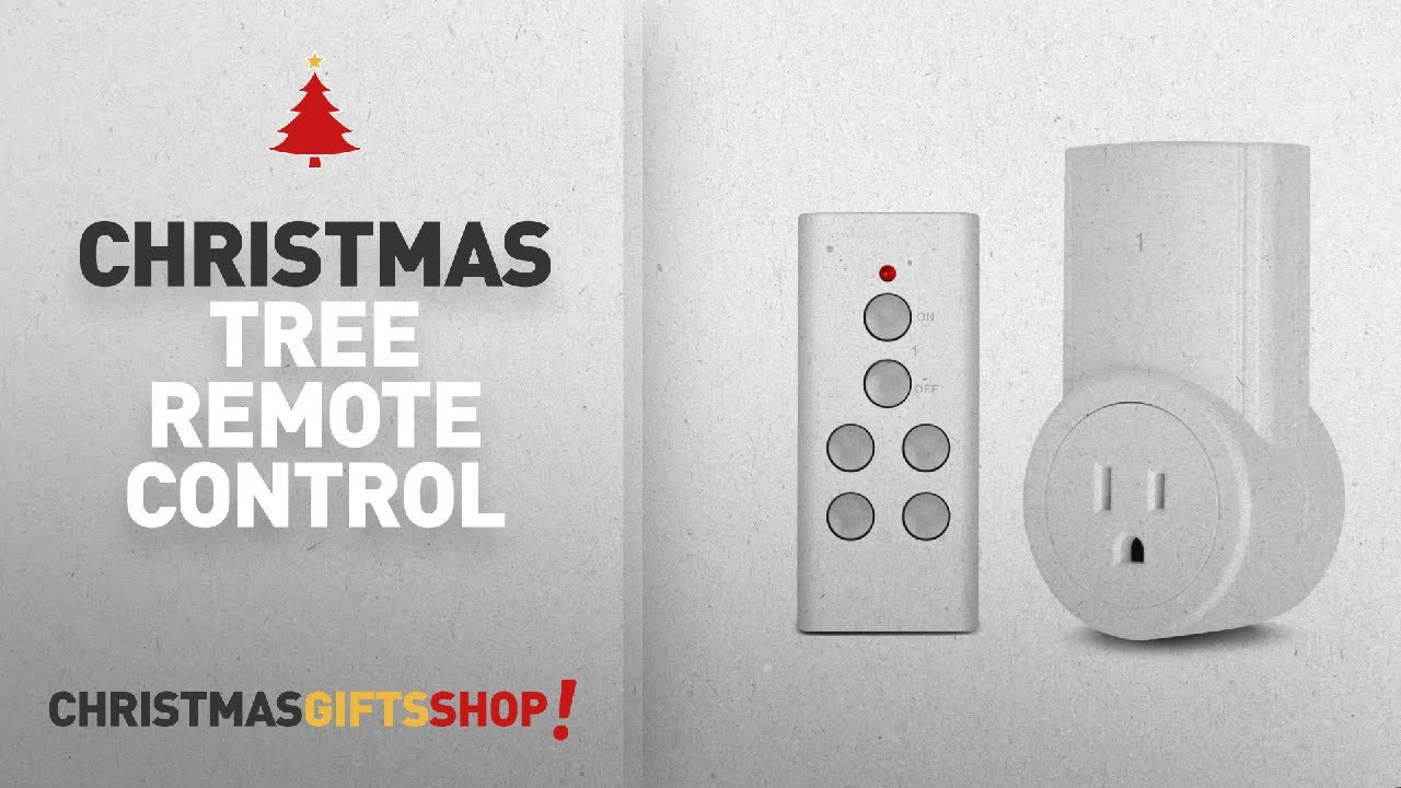 Most Popular Christmas Tree Remote Control: Etekcity Wireless ...