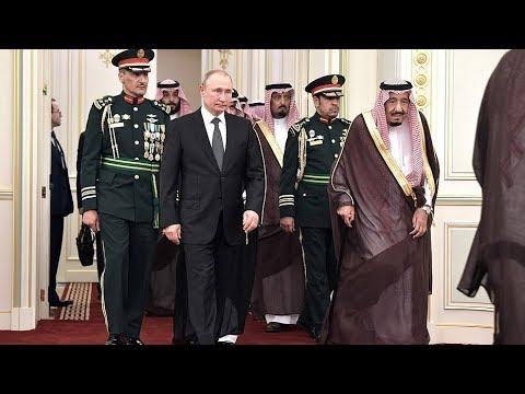 Официальный визит Путина в Саудовскую Аравию. Прямое включение