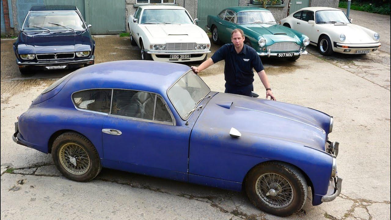 Barn Find Rare 1955 Aston Martin Found In Storage After 50 Years