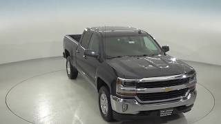 182181 - New, 2018, Chevrolet Silverado, 1500, LT, Double, Black, 4WD, Review, For Sale -