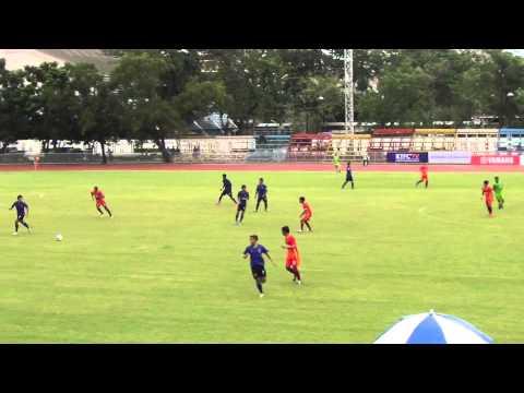 Krungthonburi FC 1-2 Grakcu Looktabfah. AIS Regional League 2013