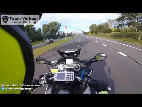Ambulancebegeleiding / Police escort Gouda naar het Erasmus MC Rotterdam 10-10-2016