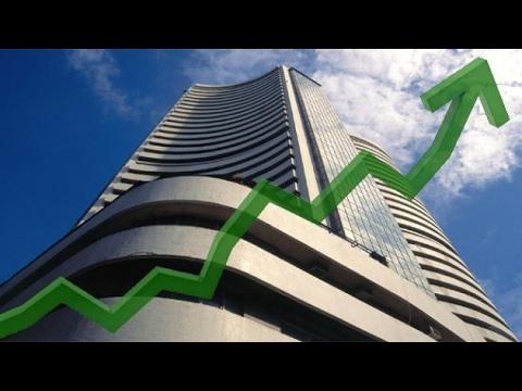 Sensex climbs 125 pts, Rupee slips 10 paise against dollar